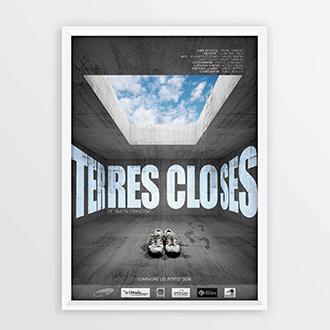 Affiche pour le spectacle Terres Closes