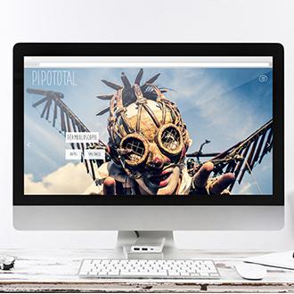 Site web de la compagnie Pipototal